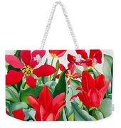 Shakespeare Tulips Weekender Tote Bag