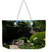 Shakespeares Garden Central Park Weekender Tote Bag
