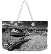 Shaldon Beach In Mono  Weekender Tote Bag