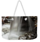 Shale Creek Waterfall Weekender Tote Bag