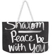Shalom Weekender Tote Bag