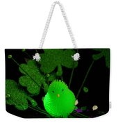 Shamrock Chick Weekender Tote Bag