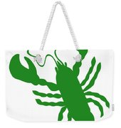 Shamrock Lobster With Feelers 458 20120114 Weekender Tote Bag