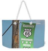 Shamrock Weekender Tote Bag