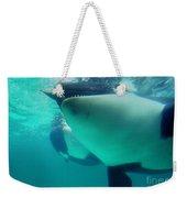 Shamu Was  1965-1971 Orca Sea World California 1968 Weekender Tote Bag