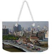 Shanghai, China Weekender Tote Bag