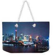 Shanghai Panorama Weekender Tote Bag