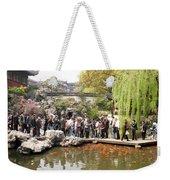 Shanghai Yuyuan Garden Weekender Tote Bag