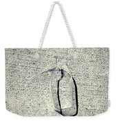 Shape No. 28 Gray Scale Version Weekender Tote Bag