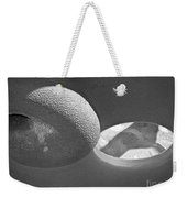 Shape No.18 Gray Scale Version Weekender Tote Bag