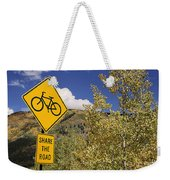 Share The Road Weekender Tote Bag