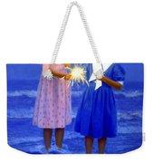 Sharing A Sparkler  Weekender Tote Bag