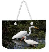Sharing The Fishing Grounds Weekender Tote Bag