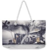 Sharknado Detroit Weekender Tote Bag