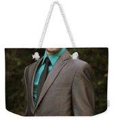 Sharp Dressed Man Weekender Tote Bag