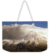 Shasta Storm Weekender Tote Bag by Bill Gallagher