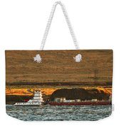 Shaver Tug On The Columbia River Weekender Tote Bag