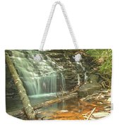 Shawnee Falls At Ricketts Glen Weekender Tote Bag