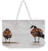 Shawnee Park Geese Weekender Tote Bag