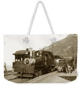 Shay No. 498 At The Summit Of Mt. Tamalpais Marin Co California Circa 1902 Weekender Tote Bag