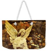 She Glows In Autumn Weekender Tote Bag