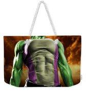 She-hulk 2 Weekender Tote Bag by Pete Tapang
