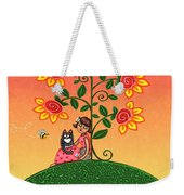 She Is Life Barnes And Noble Weekender Tote Bag