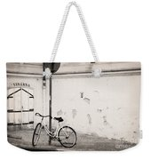 She Is Waiting  Weekender Tote Bag by Ivy Ho