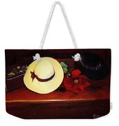 She Loved Hats Weekender Tote Bag