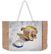 She Sells Sea Shells Decorative Collage Weekender Tote Bag