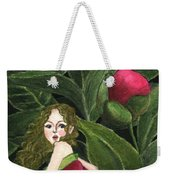 She Stole A Peony To Wear Weekender Tote Bag