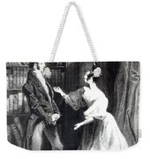 She Then Told Him What Mr Darcy Had Voluntarily Done For Lydia Weekender Tote Bag