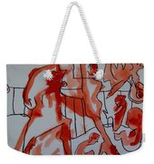 She Was Fed To Death  By Animals 2009 Weekender Tote Bag