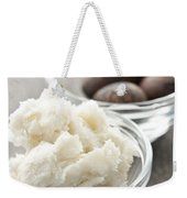 Shea Butter And Nuts In Bowls Weekender Tote Bag
