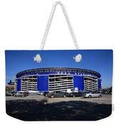 Shea Stadium - New York Mets Weekender Tote Bag by Frank Romeo