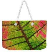 Shed Foliage Weekender Tote Bag