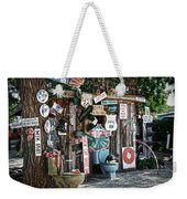 Shed Toilet Bowls And Plaques In Seligman Weekender Tote Bag by RicardMN Photography