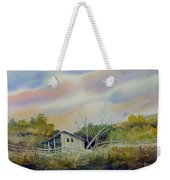 Shed With A Rail Fence Weekender Tote Bag
