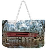 Sheeder - Hall - Covered Bridge Chester County Pa Weekender Tote Bag