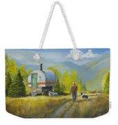 Sheep Camp Weekender Tote Bag