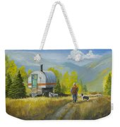 Sheep Camp Weekender Tote Bag