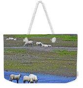 Sheep In Branch-nl Weekender Tote Bag