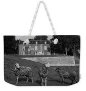Sheep In French Landscape Weekender Tote Bag