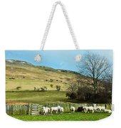 Sheep In Meadow Weekender Tote Bag