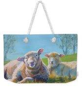 Sheep Lying Down Weekender Tote Bag
