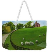 Sheep May Safely Graze Weekender Tote Bag