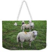 Sheep On Parade Weekender Tote Bag