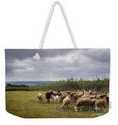 Sheep Pasturing Weekender Tote Bag