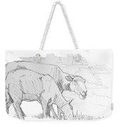 Sheep Pencil Drawing  Weekender Tote Bag