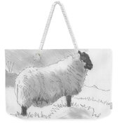 Sheep Sketch Weekender Tote Bag